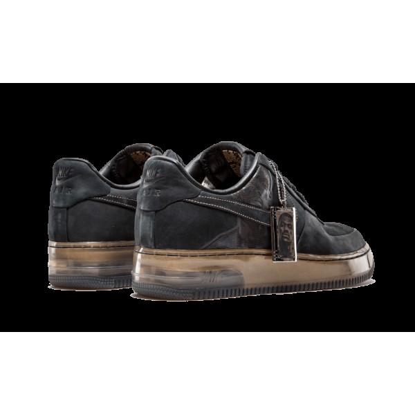 Nike Air Force 1 SPRM 07 315094-001 NSW Lebron James Nouveau Six Pack Noir/Or