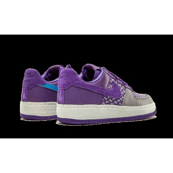 313213-551 Nike Air Force 1 Low Insideout Premium Undefeated Edition Varsity Pur