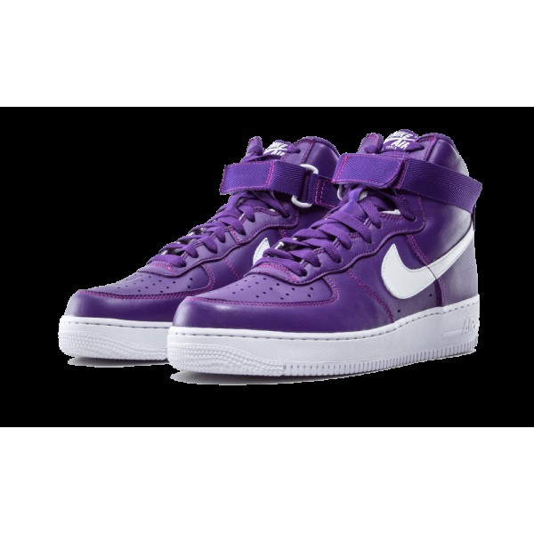Nike Lab X Air Force 1 High Retro QS Varsity Pourpre Homme Casual Chaussures 823297-500