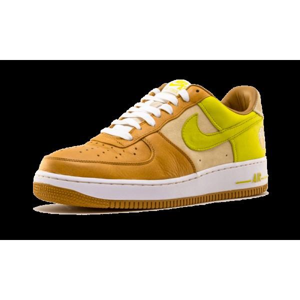 316892-731 Nike Air Force 1 Premium Blé de Bobbito/Cactus lumineux/Plage