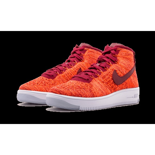 Nike Air Force One AF1 Ultra Flyknit Chaussures de Femme  818018-800