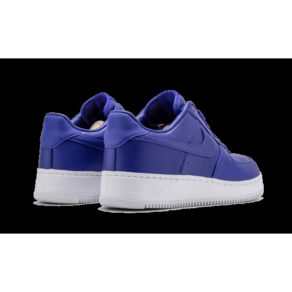 Nike Air Force 1 Low Concord Blanche Chaussure de Homme 555106-402