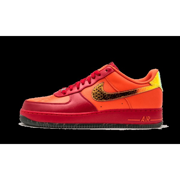 Nike Air Force 1 '07 LE DB Doernbecher Orange Roug...