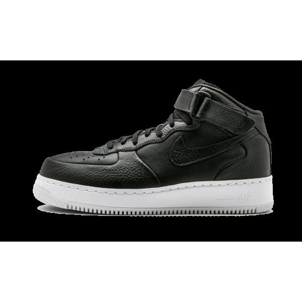 Nike Air Force 1 MID Noir/Blanche 819677-002