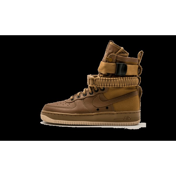 Nike Femme SF Air Force 1 Oren Beige 857872-200