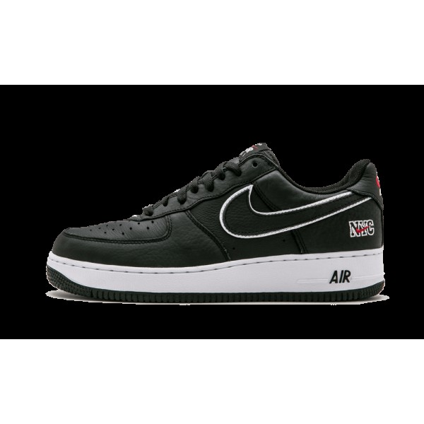 Nike Air Force 1 Low Retro Noir/Blanche/Varsity Ro...