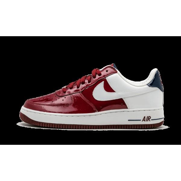 Nike Air Force 1 Premium Team Rouge/Blanche/Midnig...