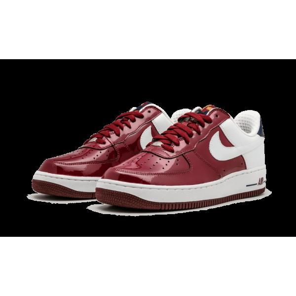 Nike Air Force 1 Premium Team Rouge/Blanche/Midnight Marine 309096-611