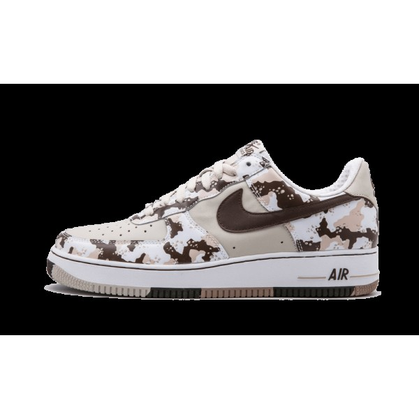 Nike Air Force 1 Premium Bouleau/Chocolat léger/O...