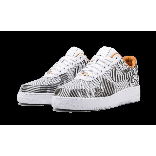 Homme Nike Air Force 1 Low SOHO NYC ID Laser Noir/Blanche 921807-992