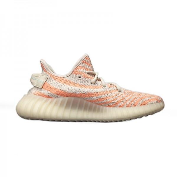 Adidas Yeezy Boost 350 V2 Chalk Coral/Aqua Chaussu...