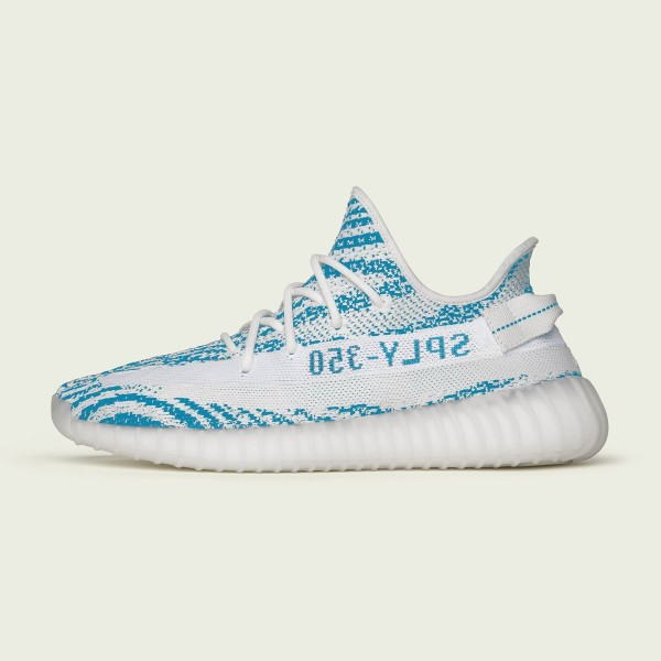 Adidas Yeezy Boost 350 V2 Chaussures Blanche/Teal ...