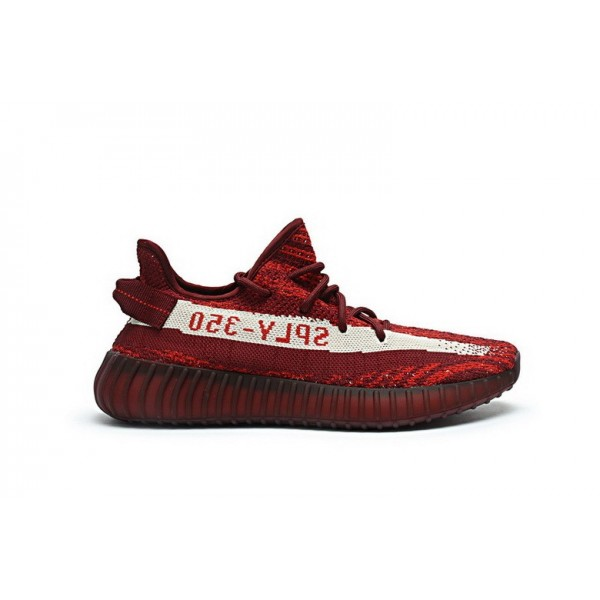 Adidas Yeezy Boost 350 V2 Teach Rouge/Deep Wine DA...