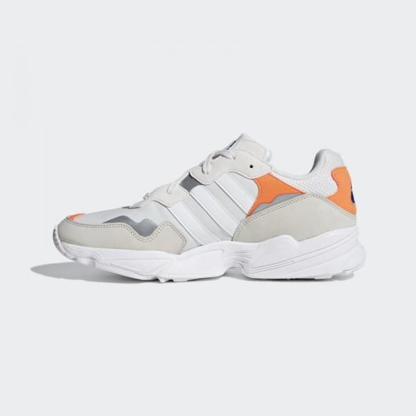 Adidas Originals Yung Clear Marron/Blanche/Orange ...