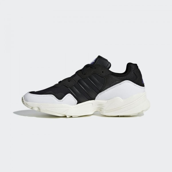 Homme Adidas Yung 96 Chaussures Blanche/Core Black...