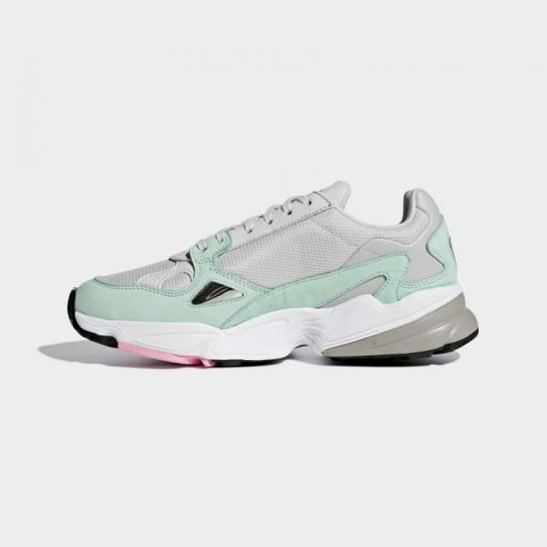 "Adidas Falcon ""Watermelon"" Gris Vert Cha..."