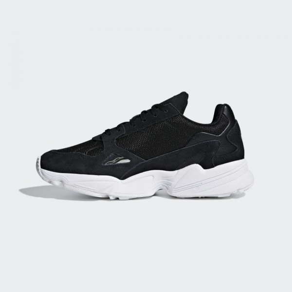 Adidas Femme Falcon Core Black/Blanche Casual Shoe...