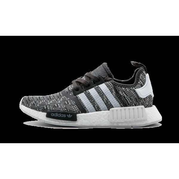Adidas NMD_R1 Femme Noir/Blanche/Gris  BY3035