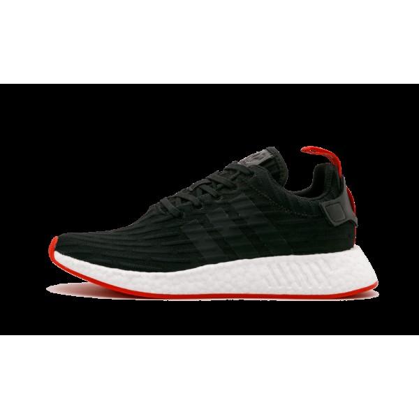 Adidas NMD_R2 PK Noir/Blanche/Rouge BA7252