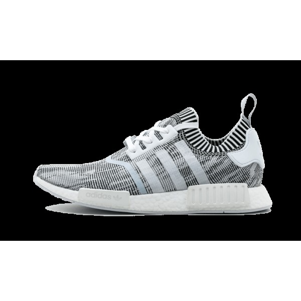 Adidas NMD_R1 PK Blanche/Noir/Gris BY1911