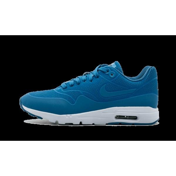 Femme Nike Air Max 1 Ultra Moire Bleu Chaussures 7...