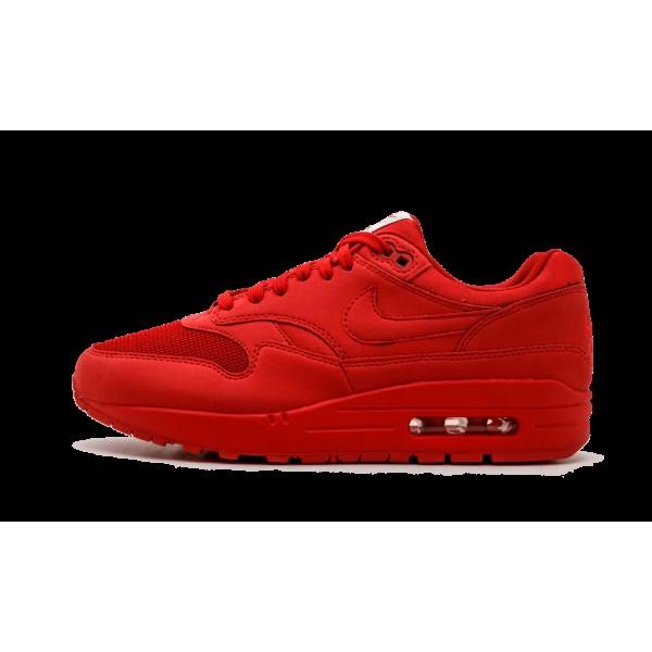 Nike Air Max 1 Premium 875844-600 Université Roug...