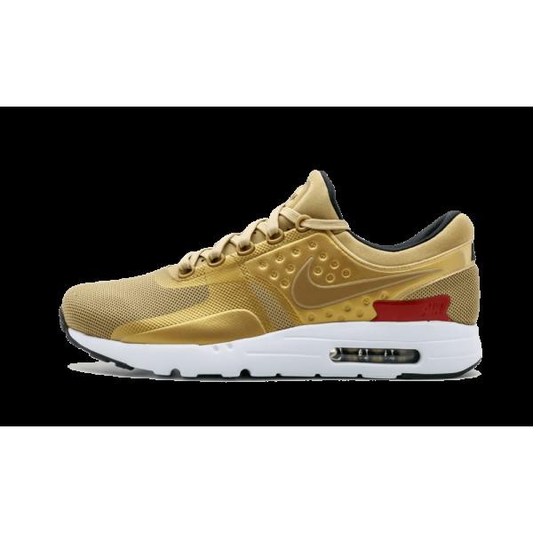 Homme Nike Air Max Zero QS Chaussures Or métalliq...