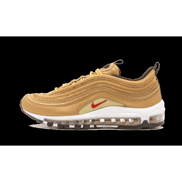 Nike Air Max 97 OG QS Or métallique Rouge 918890-...