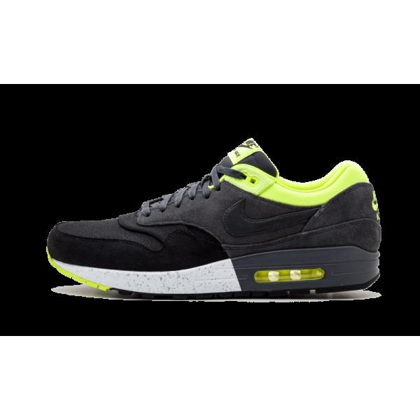 Nike Air Max 1 Premium Noir Anthracite Volt 512033...