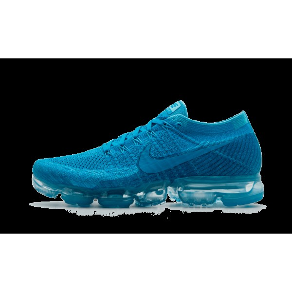 Nike Air VaporMax Flyknit Day Nuit Bleu Orbit Glac...