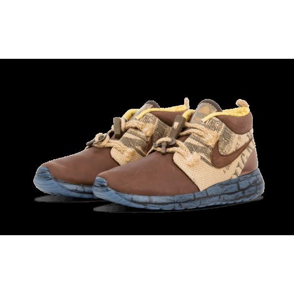 Nike Roshe Run Trollstrike Marron/Marine 748864-200