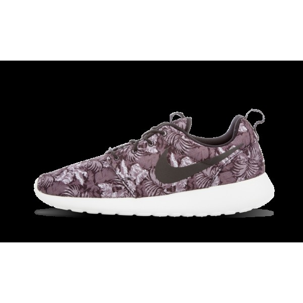 Nike Roshe Run Print Floral Gris Noir 655206-010 S...