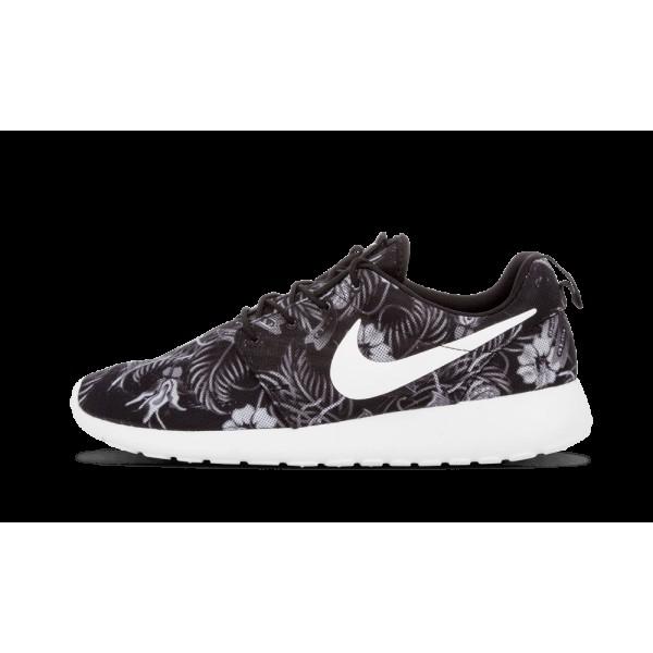 Nike Roshe Run Print Cool Gris/Blanche/Noir 655206...