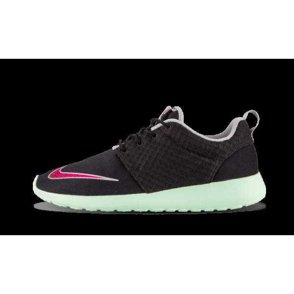 Nike Roshe Run Rosherun Fb Noir Rose Flash Fresh M...