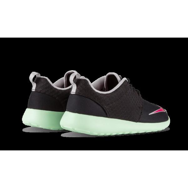 Nike Roshe Run Rosherun Fb Noir Rose Flash Fresh Mint Chrome Gris 580573-063