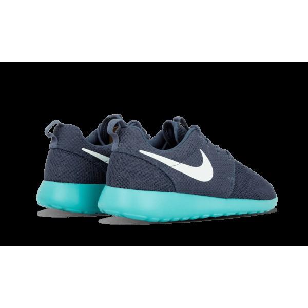 Homme Nike Roshe Run 511881 443 Squadron Bleu Fiberglass Sport Turquoise Chaussure