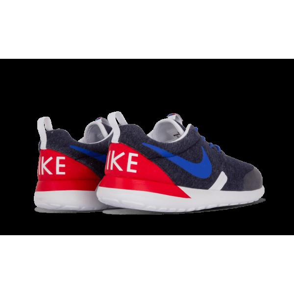 Nike Rosherun QS Femme Marine Heather/Game Royal/Rouge 703935-400