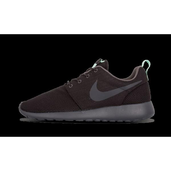 511882-006 Femme Nike Roshe Run Noir/Arctic Vert/V...