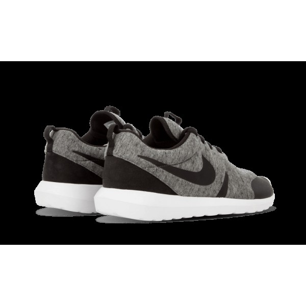 Homme Nike Roshe Fleece NM TP Athletic Chaussures 749658-002 Cool Gris Noir Blanche