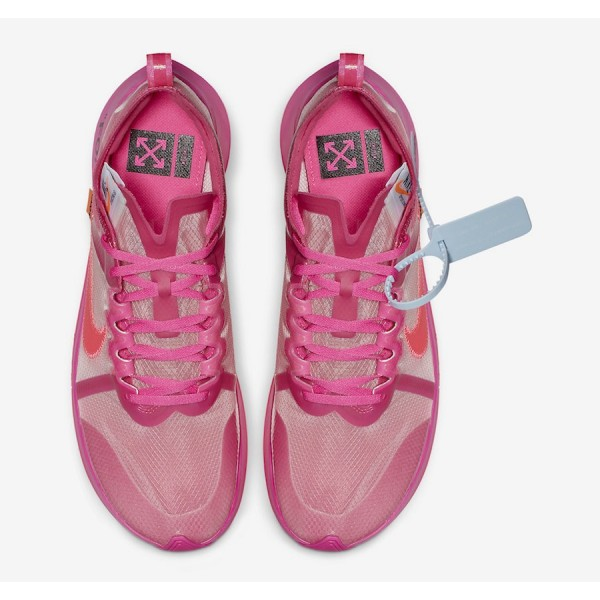 Off-White x Nike Zoom Fly SP Tulip Rose Chaussures AJ4588-600