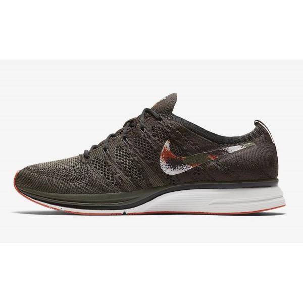 Nike Flyknit Trainer Dark Vert Noir Chaussures Hom...