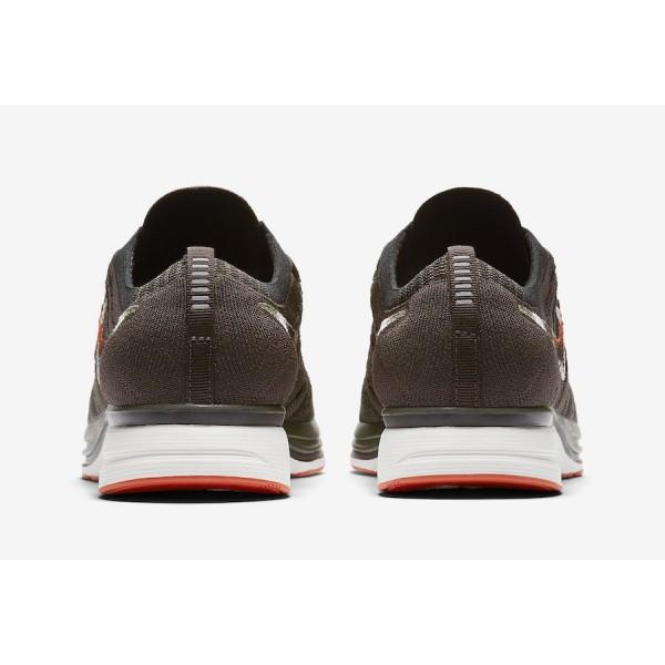 Nike Flyknit Trainer Dark Vert Noir Chaussures Homme AH8396-202