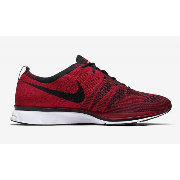 Nike Flyknit Trainer University Rouge Noir Chaussures Homme AH8396-601