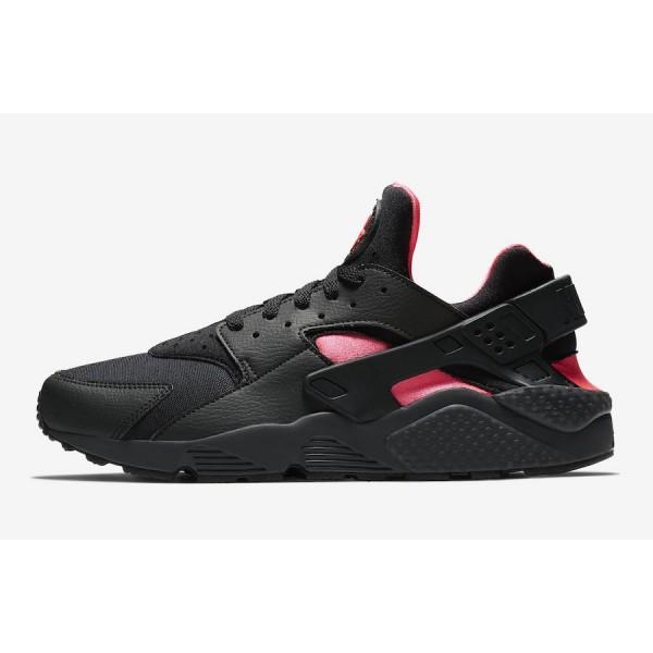 Nike Air Huarache Coral Noir Rose Chaussures Homme...