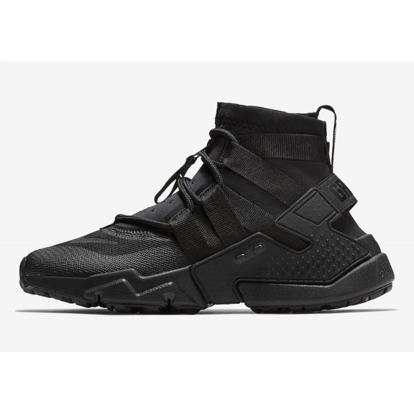 Nike Air Huarache Gripp Noir Chaussures Homme AO17...