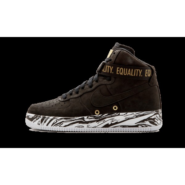 Nike Air Force 1 One Hi BHM 920787-001 Noir Histor...