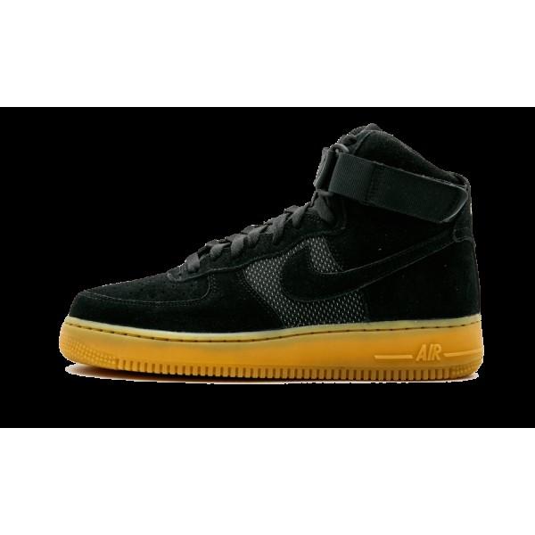806403-003 Nike Noir Gencive Homme Air Force 1 Hig...