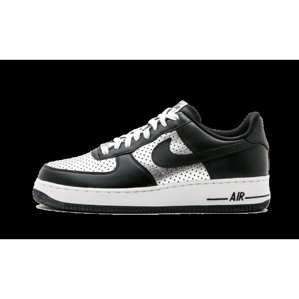Nike Air Force 1 Low Noir/Argent Chaussures de Hom...