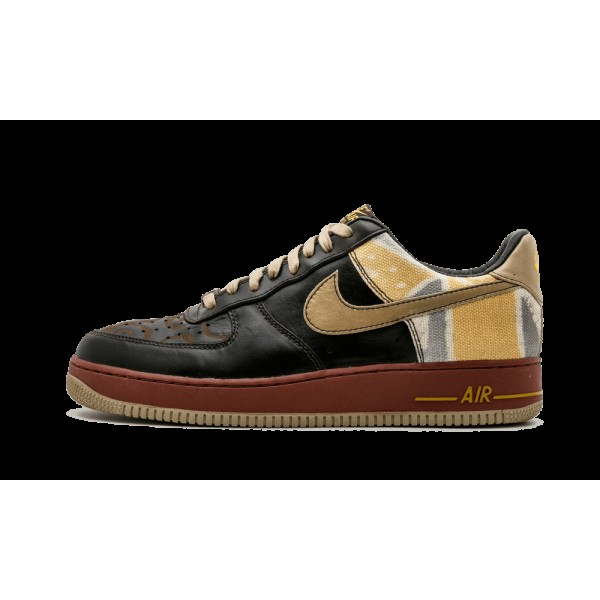Nike Air Force 1 Premium BHM Noir History Month 31...