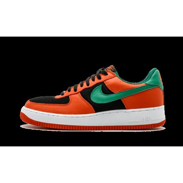 Nike Air Force 1 Low Carnival Orange Flash Vert No...